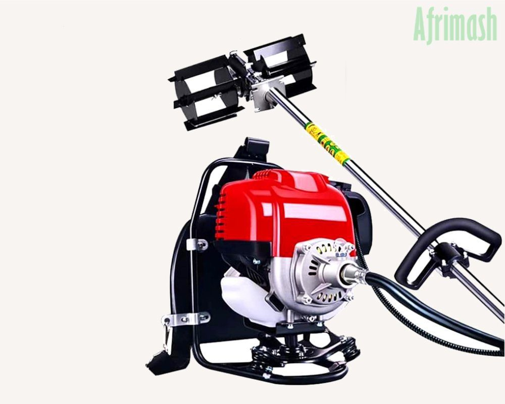 Motorized Multipurpose Knapsack Weeder and Tiller (Rotary | 4-Stroke Engine)